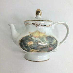 Kinkade & Adler Christmas Evening Teapot Ornament